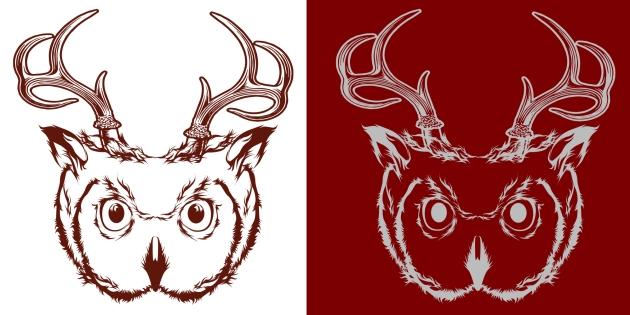 Owl and Deer Hybrid